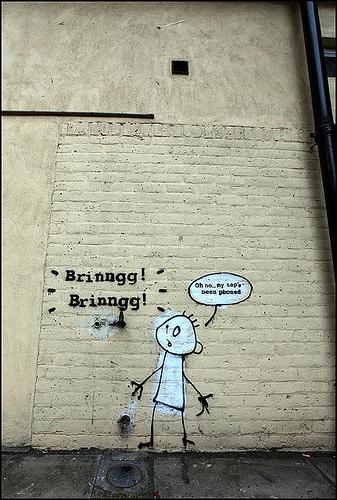 Banksy Brinngg Brinngg