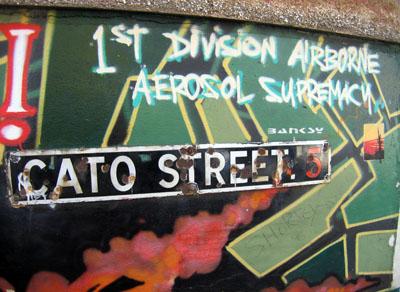 Banksy Cato Street, Bristol