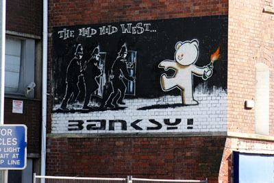 Banksy _ The Mild Mild West, Bristol