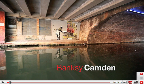 Banksy In Camden video