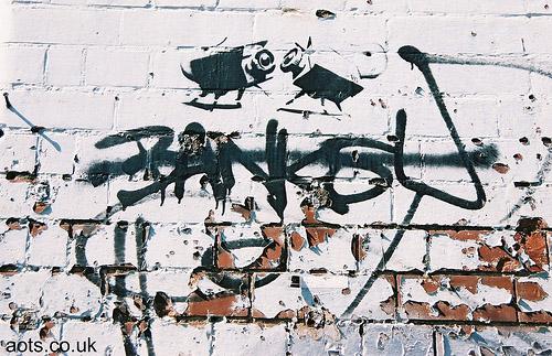 Banksy CCTV cameras photo