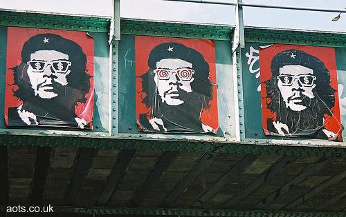Banksy Che Guerava Graffiti Photo