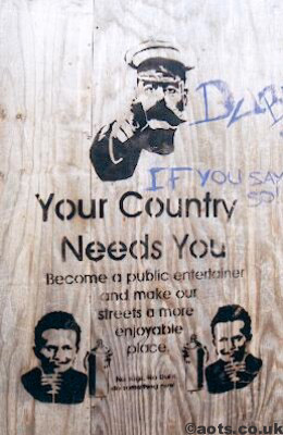 Banksy Your Country Needs You photo