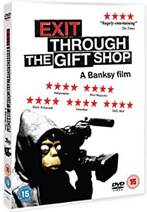 Banksy Exit Through The Gift Shop DVD cover