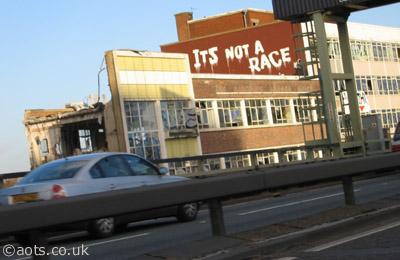 Banksy M4 Elevated Motorway
