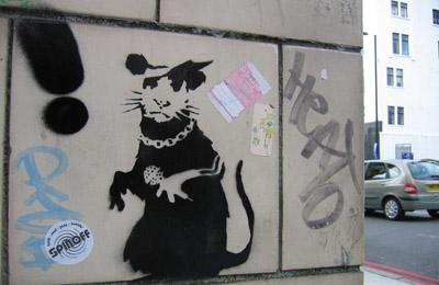 Banksy Eye Hospital rat