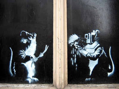 Banksy Fifteen rats