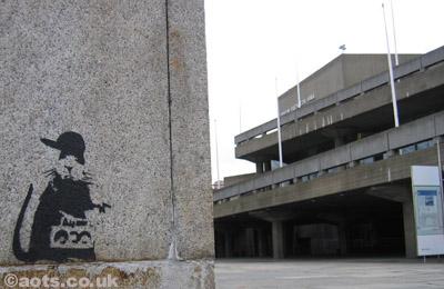 Banksy _ B_boy Rat