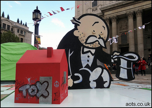 Banksy Monopoly Banker