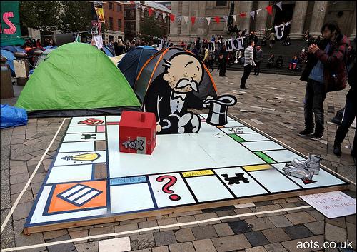 Banksy Monopoly set