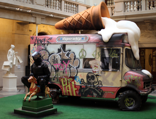 Banksy vs Bristol Museum - Ice cream truck