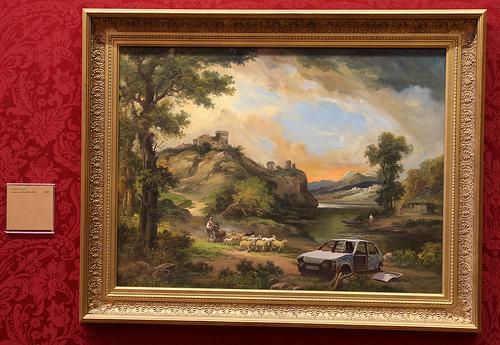 Banksy Landscape Near Hartcliffe