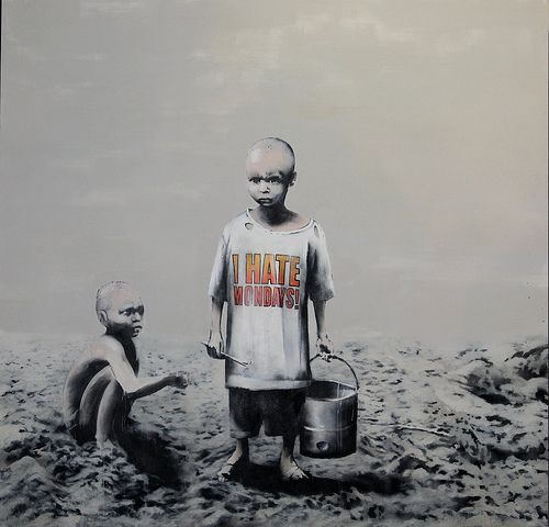 Banksy _ I hate mondays