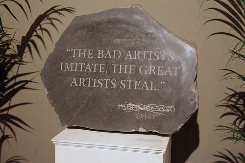 Banksy Picasso Quote