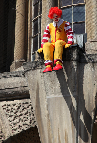 Banksy Ronald McDonald