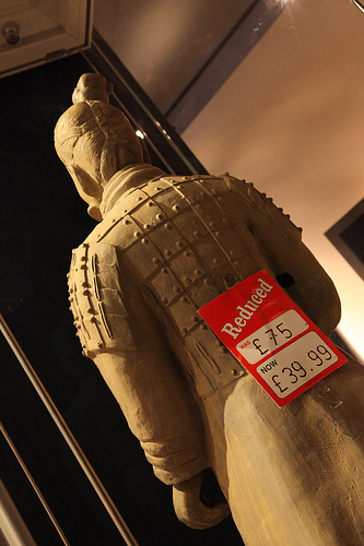 Banksy reduced Terracotta Army