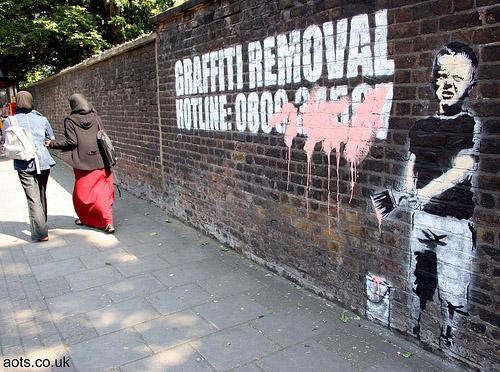 Banksy Pentonville Road
