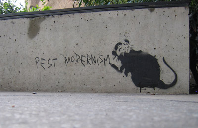 "Banksy ""Pest Modernism"""