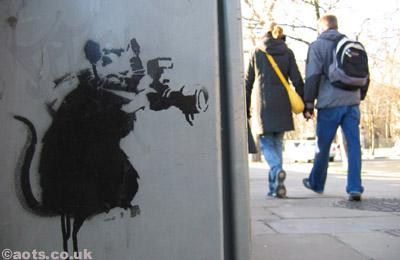 Banksy rat spy