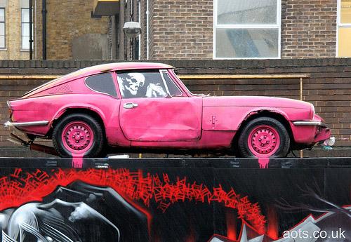 Banksy Brick Lane