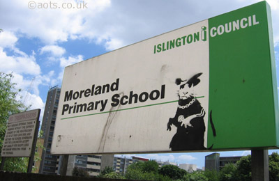 Banksy Primary School Rat