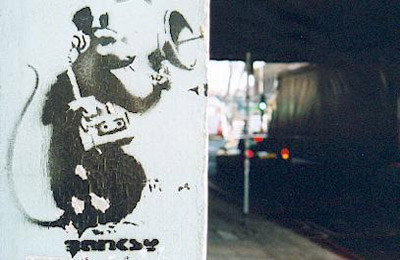 Banksy , Shoreditch, London