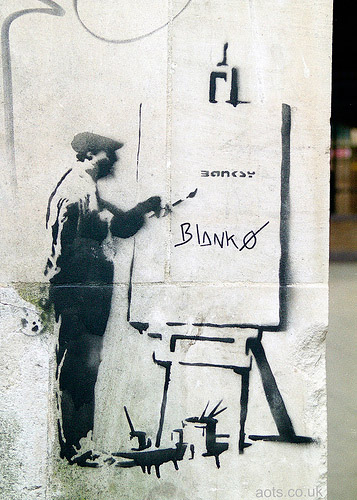 Banksy graffiti artist picture