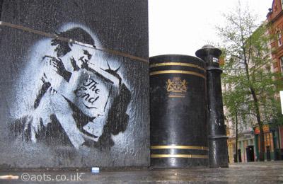 Banksy: Covent Garden