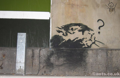 Banksy Waterloo Rat