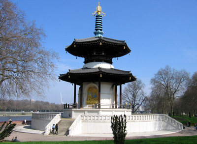 Battersea Park Peace Pagoda