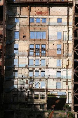 Battersea Power Station wall