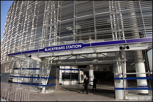 Blackfriars Underground Station
