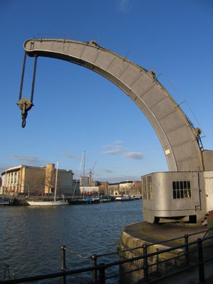 Crane, Harbourside, Bristol