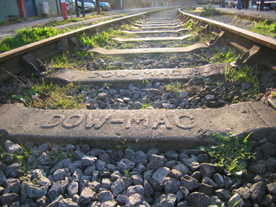 Railway track, Harbourside, Bristol