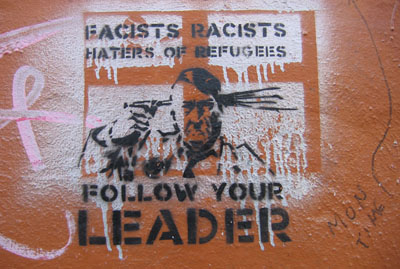 Follow Your Leader stencil