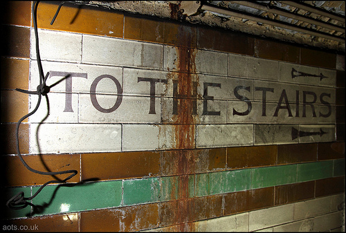 Brompton Road station _ To The Stairs