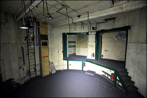 Brompton Road Station Anti Aircraft Control Room