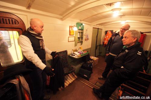 carriage interior