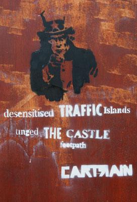 Cartrain Uncle Sam Stencil Graffiti
