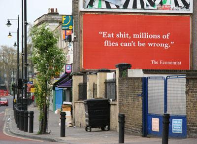 STOT21stCPlanB Economist billboard, Hackney