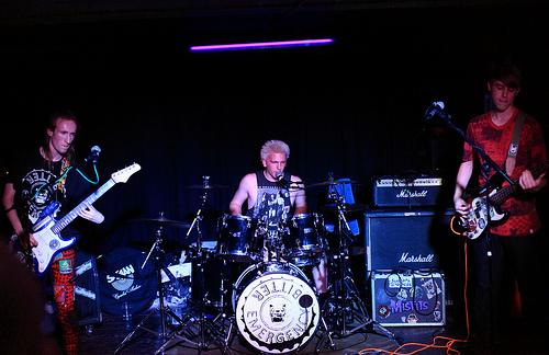 Code Blue punk band