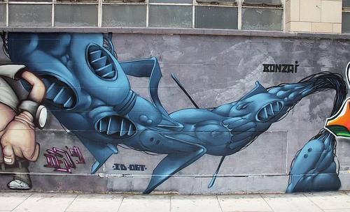 Bonzai graffiti