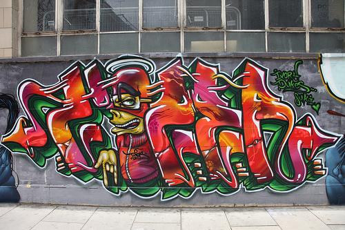 Tizer graffiti