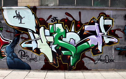 Twesh graffiti