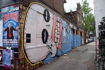 Cyclops / Sweet Toof graffiti