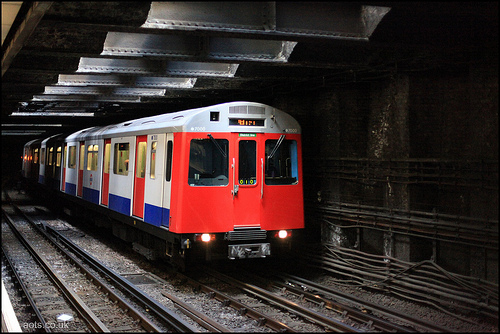 District line train photo