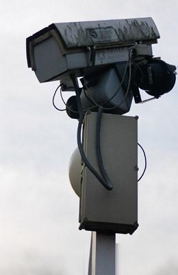 Disused CCTV camera