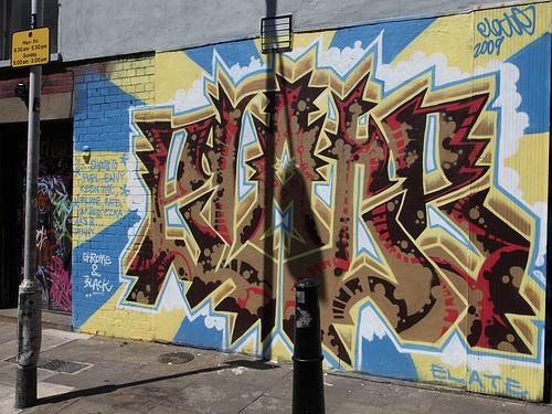 Elate Graffiti Brick Lane