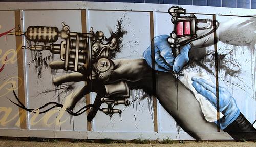 endoftheline graffiti