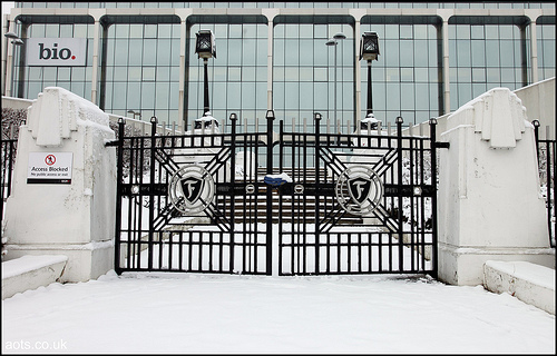 Firestone factory gates